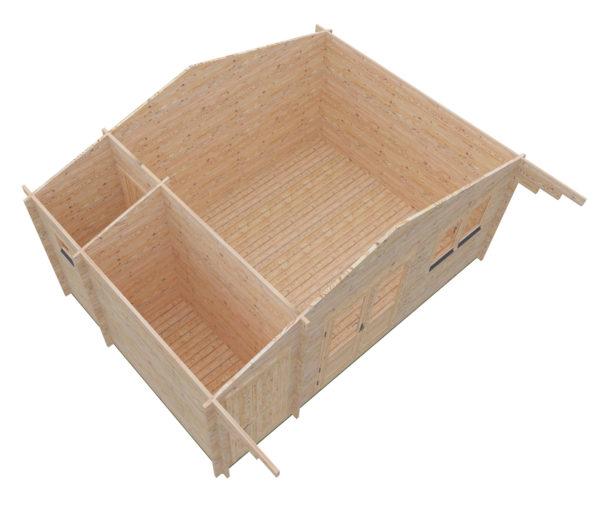 ASHBOURNE LOG CABIN | 5.6m X 4m 14